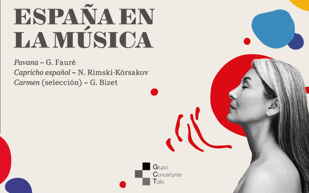 España en la música, próximo concierto de la Orquesta Metropolitana y Coro Talía en el Auditorio Nacional