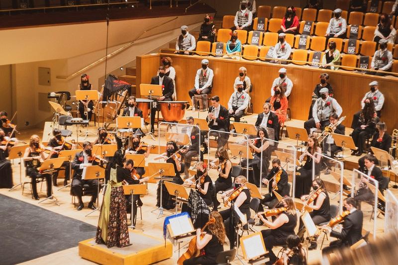 Emocionante fin de temporada de la Orquesta Metropolitana de Madrid, el Coro Talía y su directora Silvia Sanz Torre con el concierto ¡Vive la zarzuela!