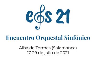 La música vuelve a sonar en Alba de Tormes con EOS 21, el Encuentro Orquestal Sinfónico para niños y jóvenes del Grupo Talía