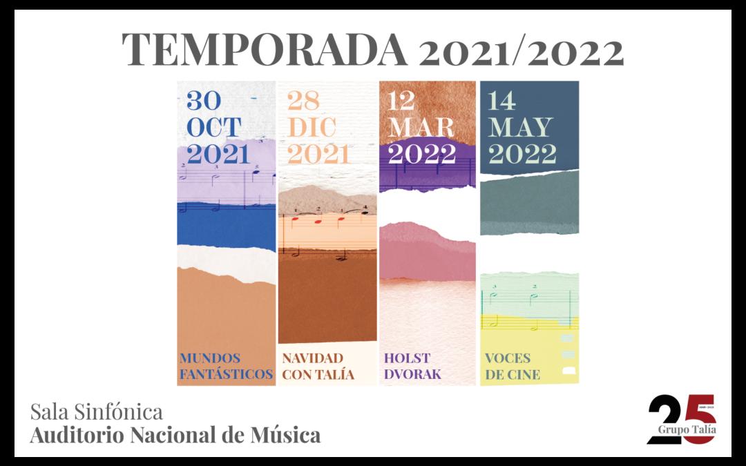 Música para todos en la XI temporada de la Orquesta Metropolitana de Madrid, el Coro Talía y su directora Silvia Sanz Torre en el Auditorio Nacional de Música